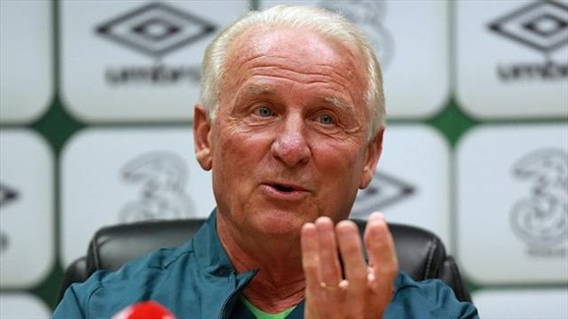 Giovanni Trapattoni's five-year tenure as Ireland boss ended on Wednesday morning