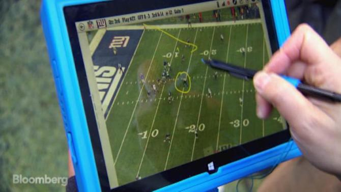 Tablets on the Sidelines a Game Changer for the NFL