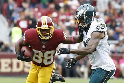 Pierre Garcon practices Thursday, should be in line for fantasy start