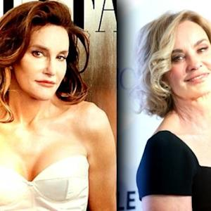 Caitlyn Jenner's Striking New Look Compared to Cindy Crawford and Jessica Lange