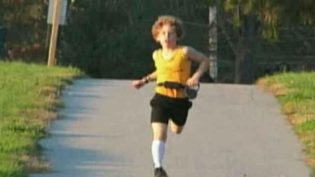 9-year-old running marathon in Antarctica