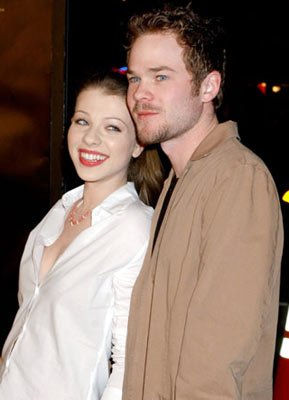 Michelle Trachtenberg and Shawn Ashmore at the Hollywood premiere of Warner Bros. Pictures' Constantine