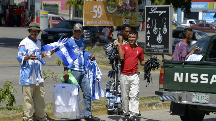 Soccer: World Cup Qualifying-San Pedro Sula City Scenes