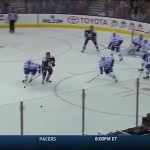 Canucks at Blue Jackets / Game Highlights