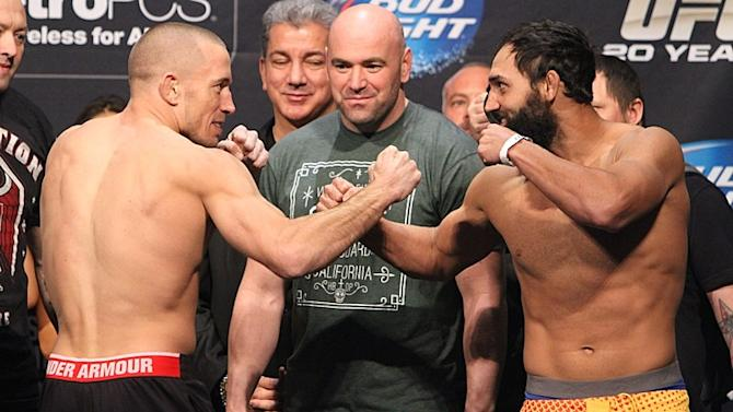 UFC 167 Fighter Bonuses: St-Pierre vs. Hendricks Main Event Earns Fight of the Night Honors