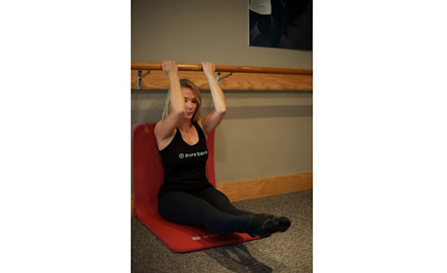 Pure Barre Abs Against the Wall