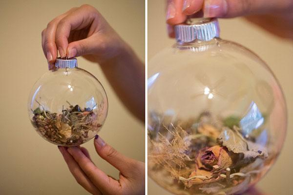 Wedding Bouquet Ornament