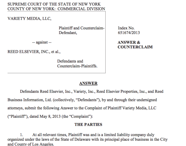 Reed Elsevier Sues Jay Penske's …