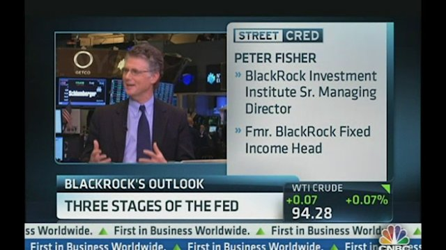 Fisher: Three Stages of the Fed