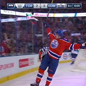 McDavid roofs his second goal