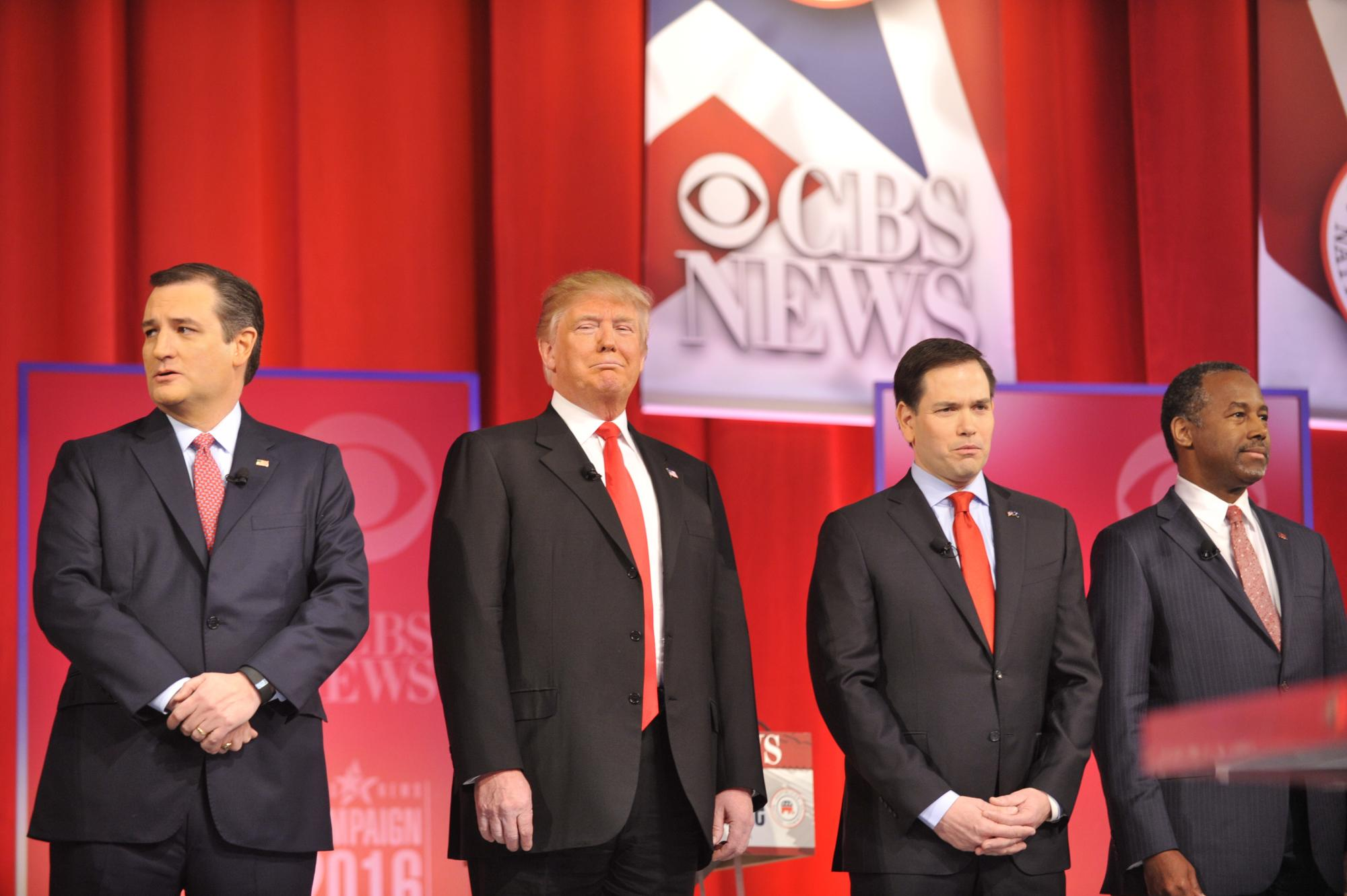 Early Ratings: GOP Debate on CBS Matches Last Week's as Highest of 2016