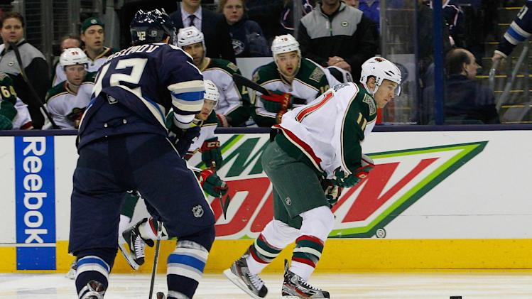 NHL: Minnesota Wild at Columbus Blue Jackets
