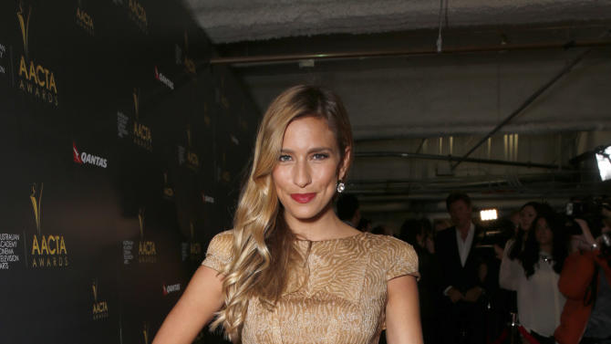 Renee Bargh attends the Australian Academy Of Cinema And Television Arts' 2nd AACTA International Awards at Soho House on January 26, 2013 in West Hollywood, California. (Photo by Todd Williamson/Invision/AP Images)
