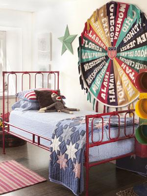 Carnival-Themed Bedroom