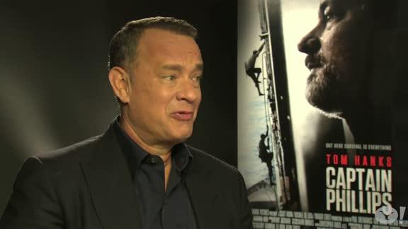 Captain Phillips interview: Tom Hanks