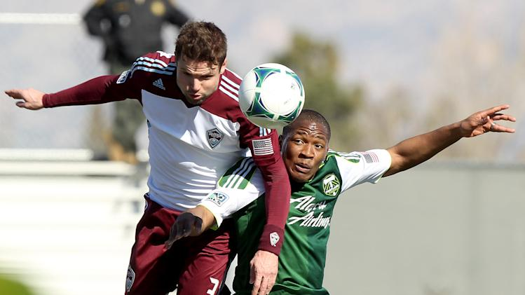 MLS: Preseason-Portland Timbers vs Colorado Rapids