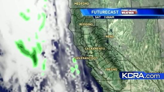 Friday Weather Updaye for Northern California 1.11