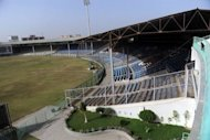 A general view of the National Cricket Stadium of Karachi. Karachi&#39;s National Stadium was once a dusty, sweaty hell for visiting cricketers, a cauldron of heat and noise where Pakistan went unbeaten in Tests for more than 45 years. But now, three years after international sides stopped coming to the country in the wake of a deadly militant attack on a Sri Lankan team bus, the stands are silent