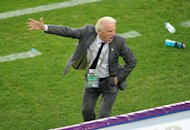Giovanni Trapattoni hopes to guide Ireland to the 2014 World Cup
