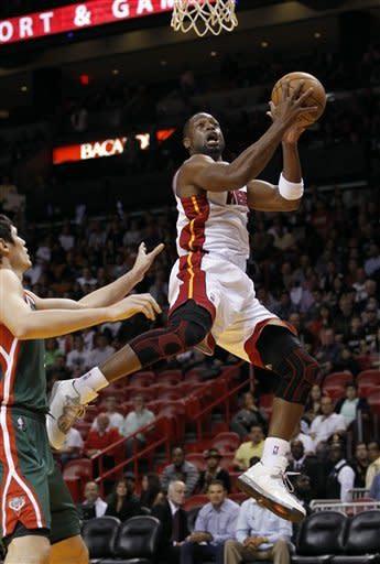 Heat beat Bucks, 113-106 in OT