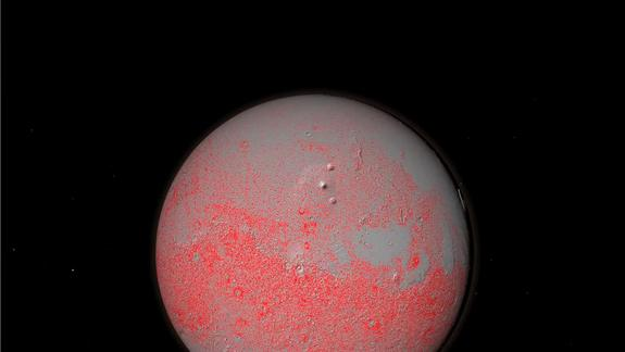 Mars Surface Scarred by 635,000 Big Impact Craters