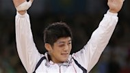 Le Sud-Coren Kim Hyeon-woo a t couronn champion olympique de lutte grco-romaine des moins de 66 kg, mardi,  Londres