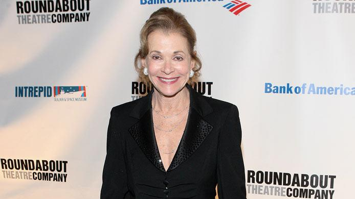 "Jessica Walter attends the after party for the Broadway opening night of ""Anything Goes"" at the Intrepid Sea-Air-Space Museum on April 7, 2011 in New York City."