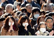 &lt;p&gt;Residents pray to mark New Year&#39;s Day at Meiji shrine in Tokyo on January 1, 2013. About three million people were expected to visit the shrine to pray during on New Year&#39;s Day.&lt;/p&gt;