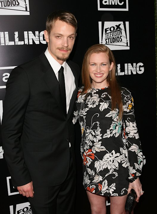 Joel Kinnaman and Mireille …