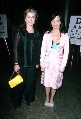 Catherine Deneuve and Bjork at the Directors Guild premire of Fine Line's Dancer In The Dark