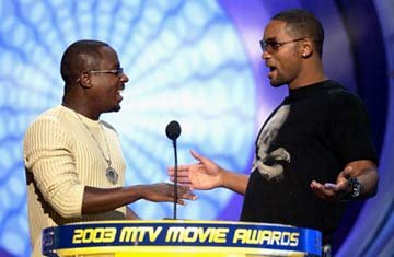 Martin Lawrence and Will Smith MTV Movie Awards - 5/31/2003