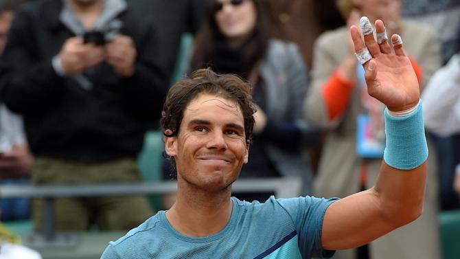 Spain's Rafael Nadal, seeded fourth, has been forced to withdraw from the French Open in Paris with a wrist injury