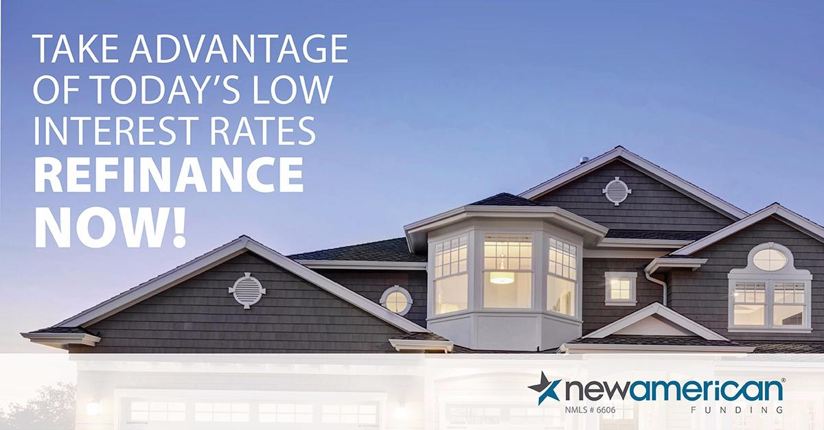 Do you know interest rates are at historical lows?