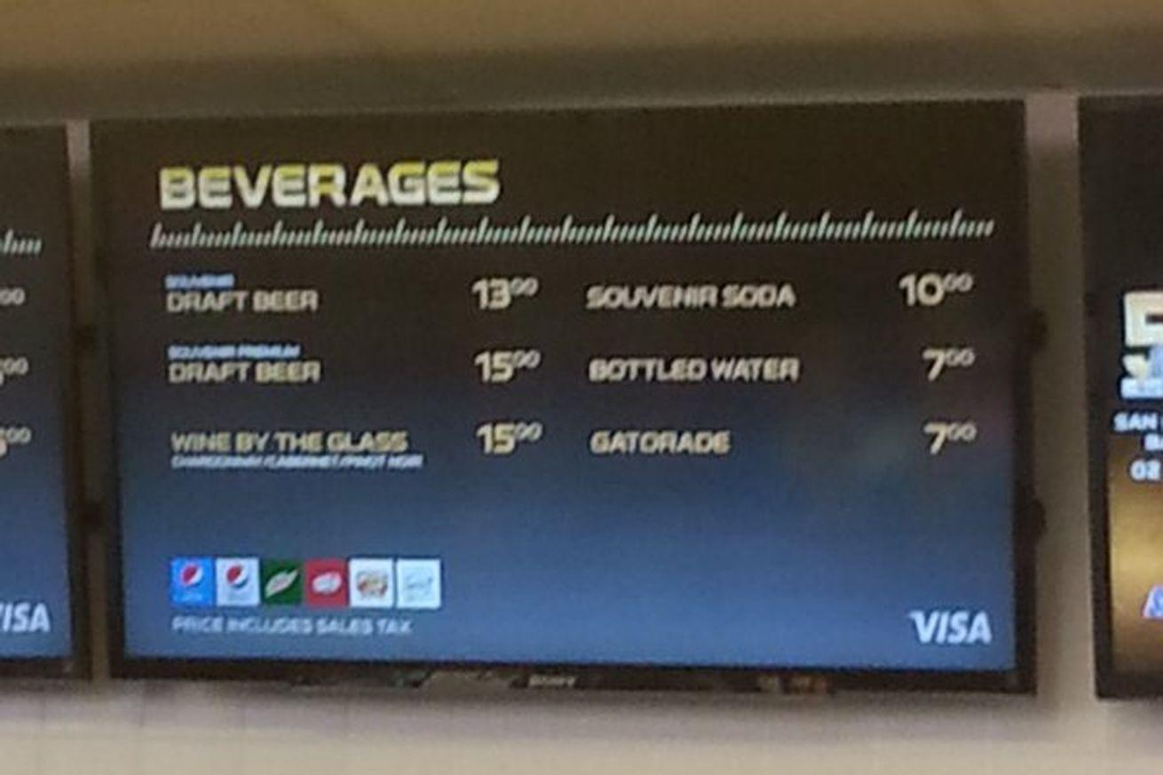 Here's how expensive the beer is at the Super Bowl