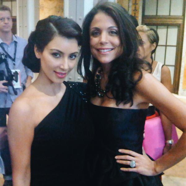 Bethenny Frankel channels her inner Kim Kardashian in throwback photo