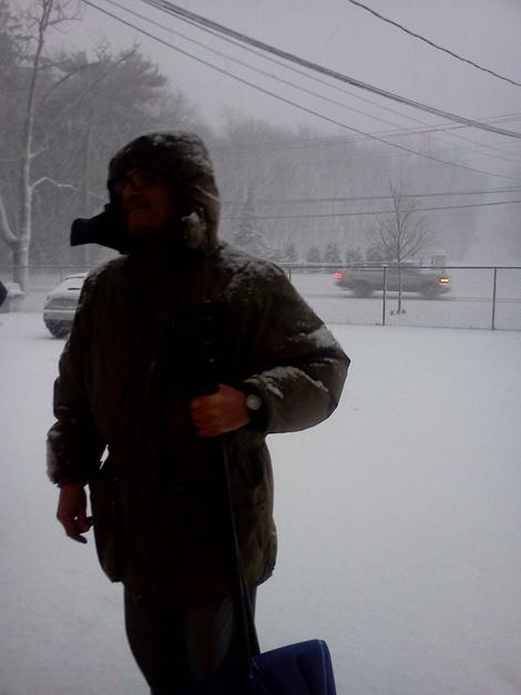 First Person: Snowstorm Snarls Yaphank, N.Y.