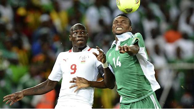 African Cup of Nations - Favourites Nigeria wary of Burkina Faso threat