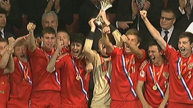 Russia claim U17 Euro title