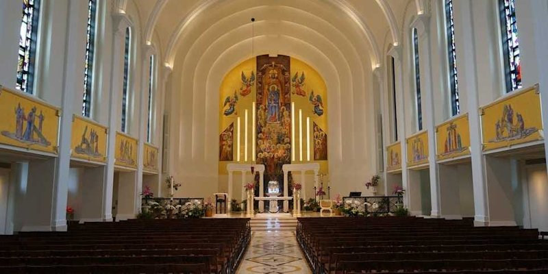 Loyola University Chicago Madonna della Strada Chapel Church