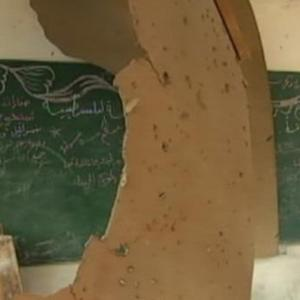 U.N. School Bombed in Israeli Airstrike