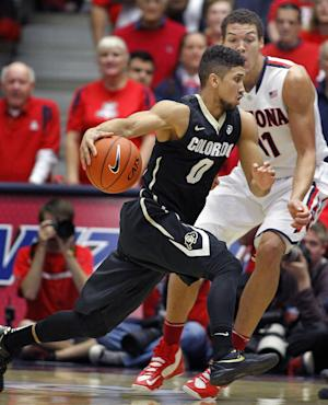 No. 1 Arizona beats Colorado 69-57