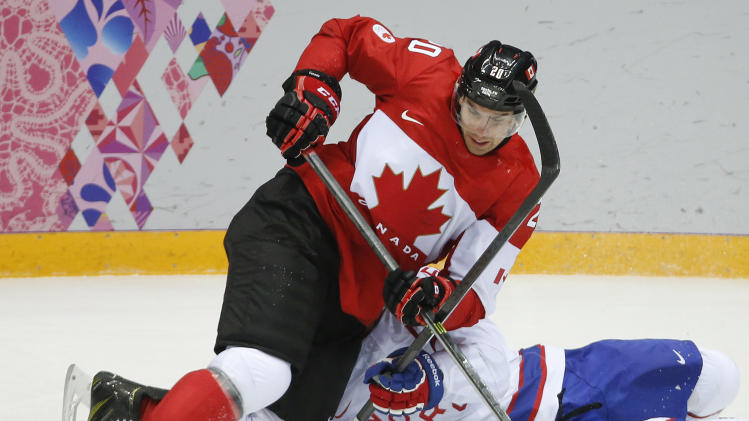Canada beats Norway 3-1 in its men's hockey opener