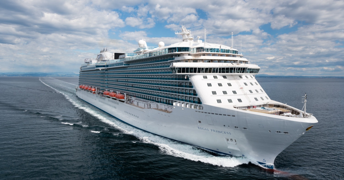 See 31 Pictures of Princess's Stunning New Ship