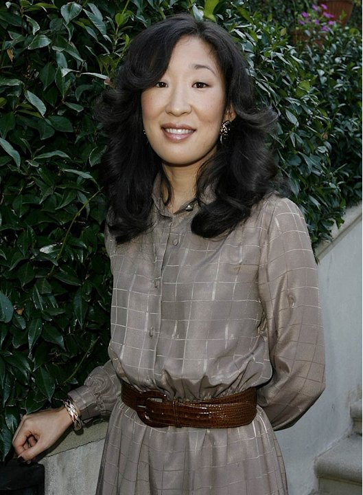 Sandra Oh at The Rape Treatment Center Annual Brunch Hosted by the Cast of Grey's Anatomy. 