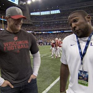 NFL Rush: Watt and Peterson face off
