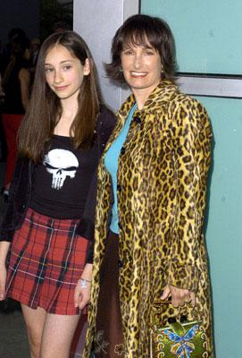 Producer Gale Anne Hurd and her daughter Lolita at the L.A. premiere of Artisan's The Punisher