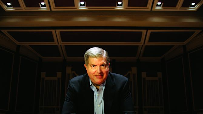 "FILE - This undated file image originally provided by Columbia Artists Management Inc. LLC shows Marvin Hamlisch. Hamlisch, a conductor and award-winning composer best known for the torch song ""The Way We Were,"" died Monday, Aug. 6, 2012 in Los Angeles. He was 68. (AP Photo/Columbia Artists Management Inc. LLC, Jason Cohn)"