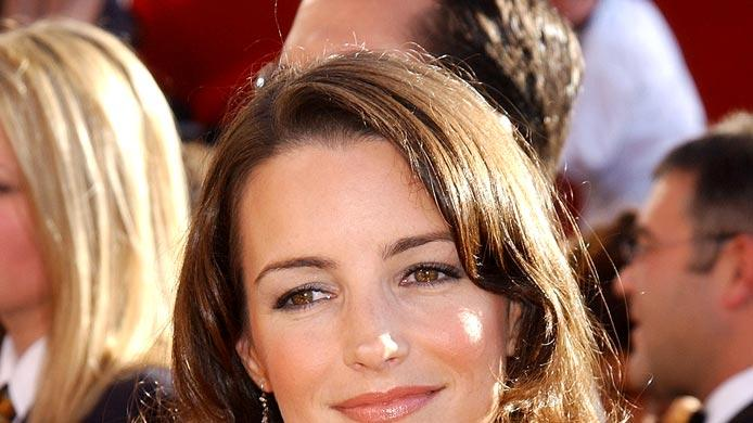 Kristin Davis at The 54th Annual Primetime Emmy Awards.