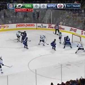 Patrick Eaves Goal on Michael Hutchinson (05:13/1st)