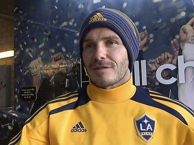 Beckham: 'Right time' to leave Galaxy